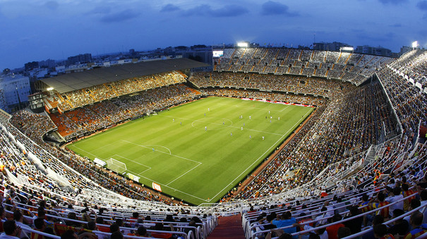 Image result for estadio de mestalla
